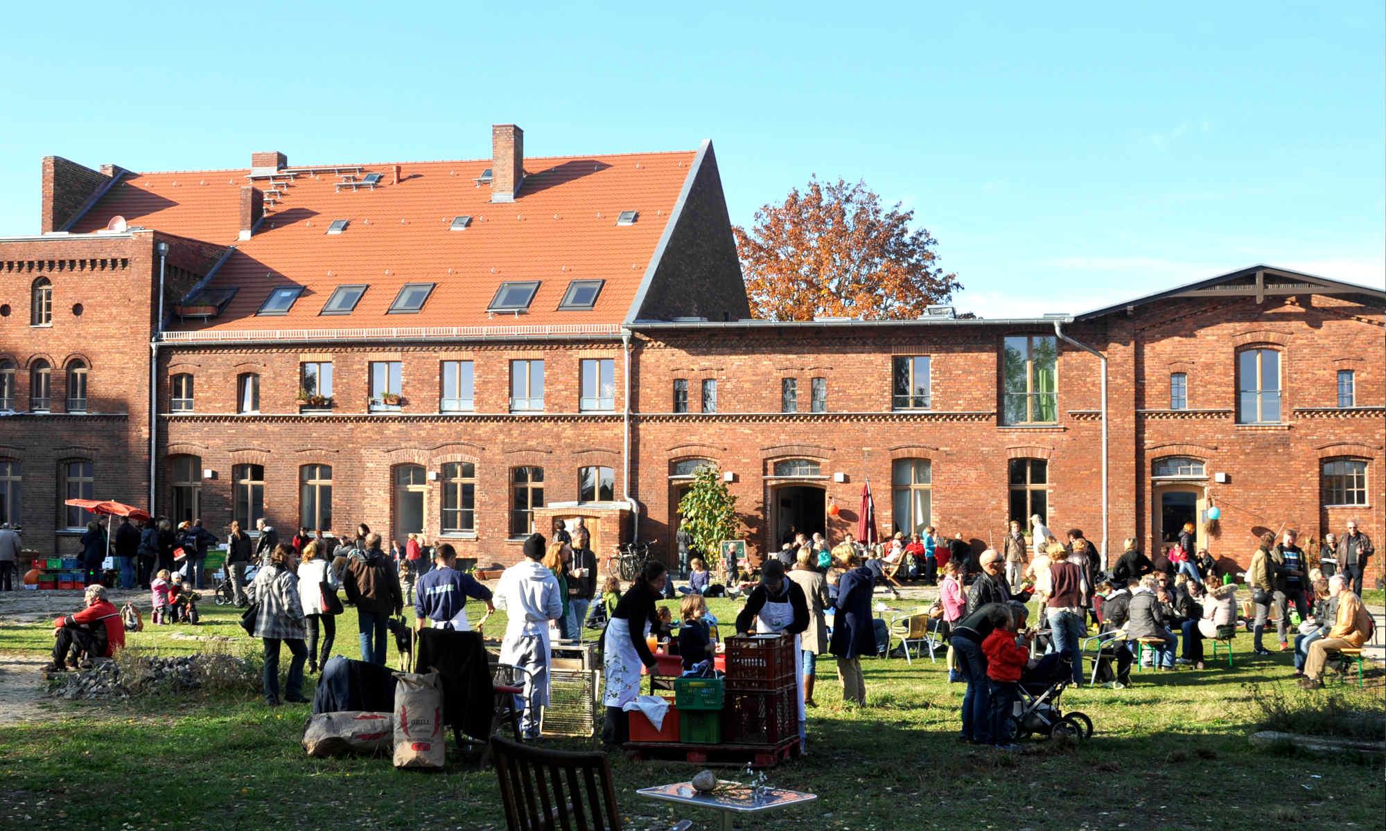 Foto Feier auf dem Stadtgut Blankenfelde